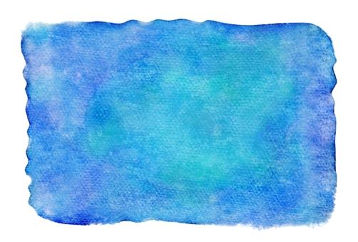 Blue watercolor wallpaper · Square