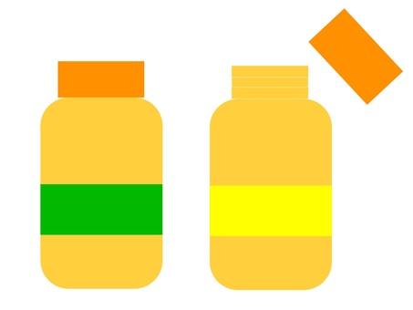 薬 bottle 1