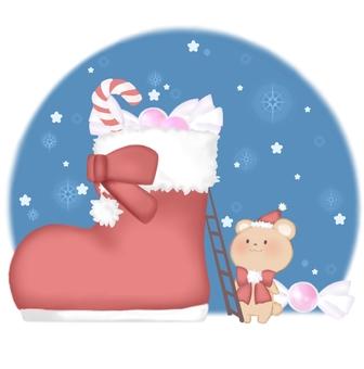 聖誕熊禮物