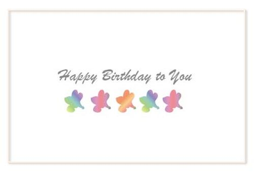 Cute flower birthday birthday card