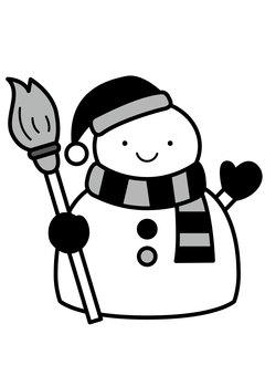 Snowman 2c