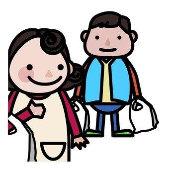 Men who go shopping