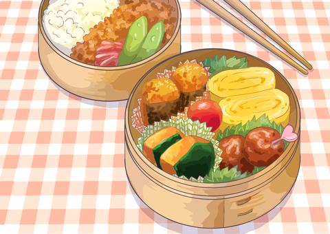 Wasabi's box lunch