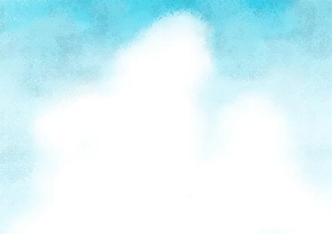 藍天和冰雲