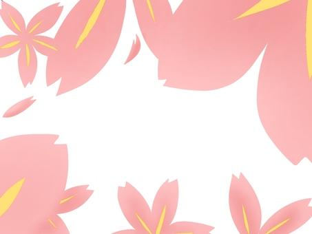 【Frame】 Sakura no Hana