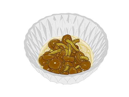 Nameko-boiled daikon radish