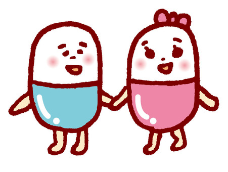 Kusuri and Kusuri-chan