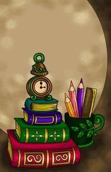 書籍和手錶