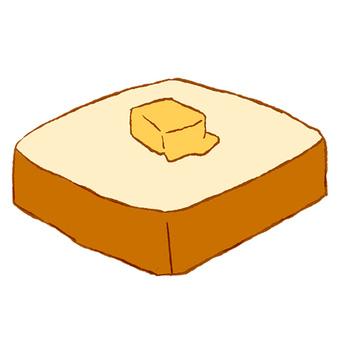 Butter lean bread