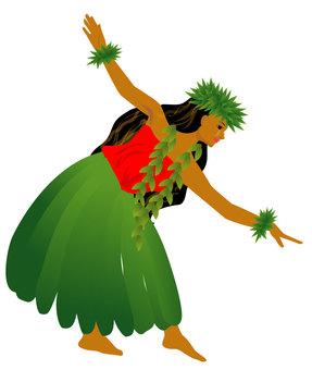 Hula Dance Hula Girl 03