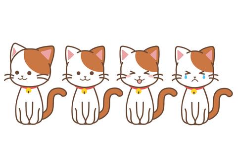 猫_おすわり