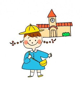girl_ kindergarten
