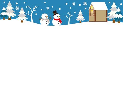 Christmas frame ⑲