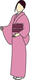 Kimono female color