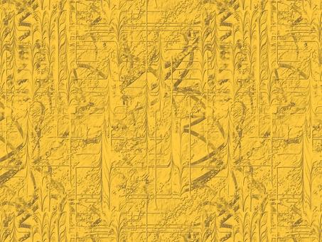 大理石圖案背景黃金