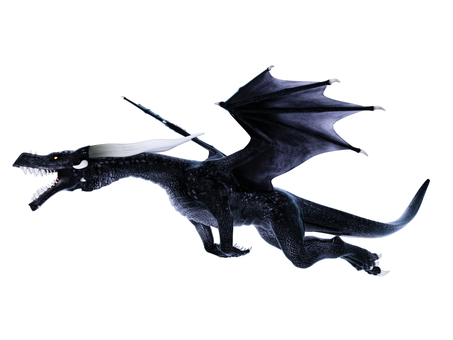 飛翔するドラゴン