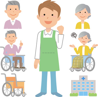 200116 Caregiver, wheelchair 1