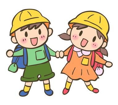 Schoolgirl for elementary school students -2