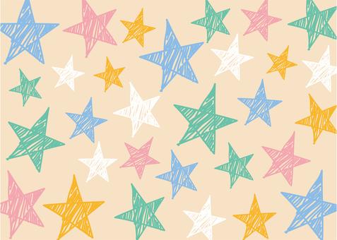 Background _ Graffiti of stars