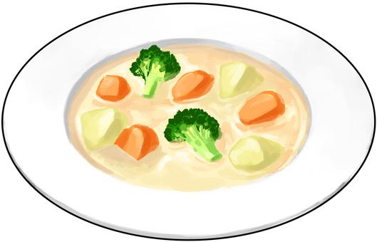 Cream Stew Contoured