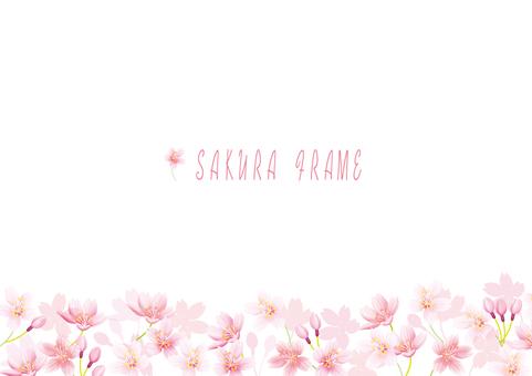 桜フレーム09