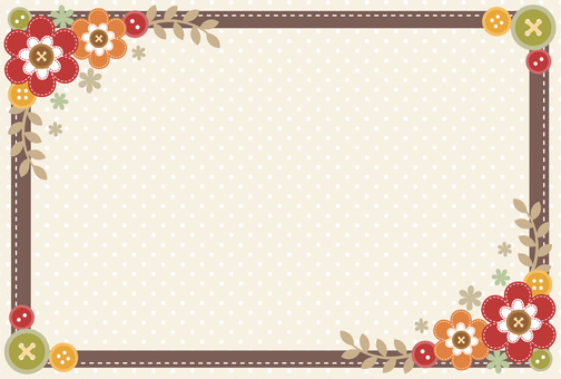 Fall-Winter Scrapbooking Wind Frame
