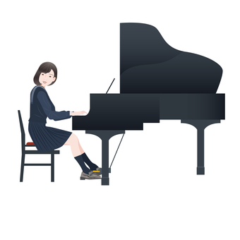 Piano and performer 2