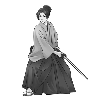 Samurai 4 (monochrome)
