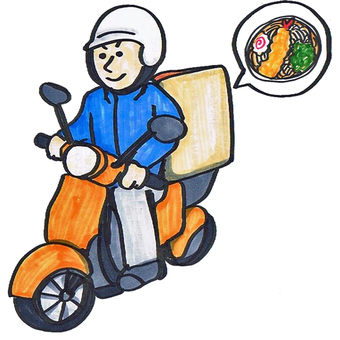 Delivery of soba