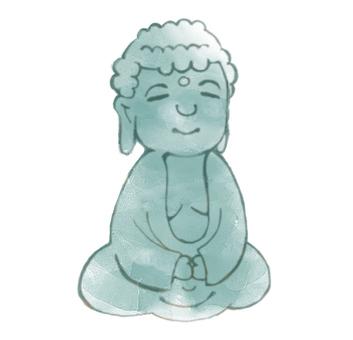 Mr. Yufuwa Buddha (painted)