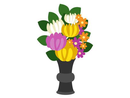 仏 flowers