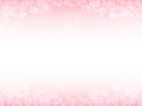 Cherry blossoms and light background 2