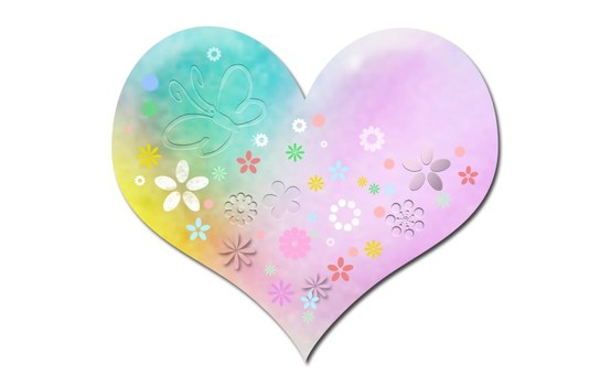 Soft Heart Illustration