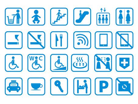 Facility pictogram set 03