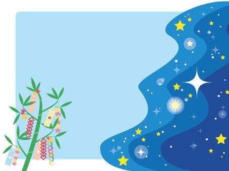 Tanabata message card