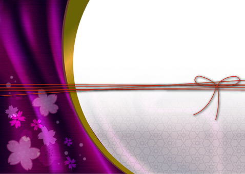 Japanese style background material 14