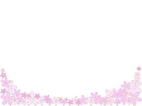 Cherry Blossom Frame 2