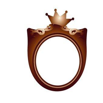 Crown frame