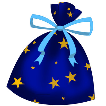 Star wrapping bag