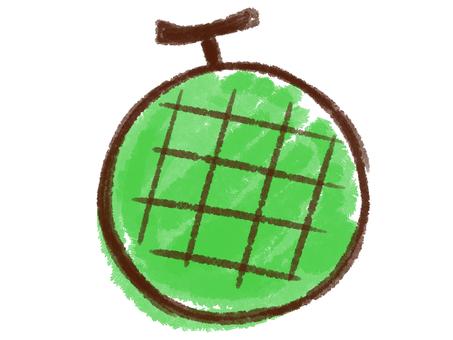 Crayon series [melon]