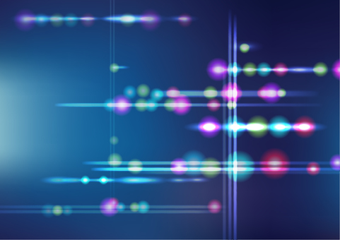 Blue light abstract background texture material