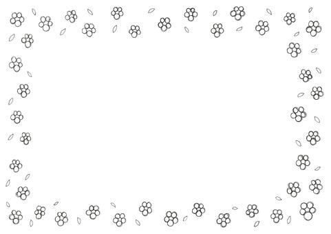 Pen flower frame