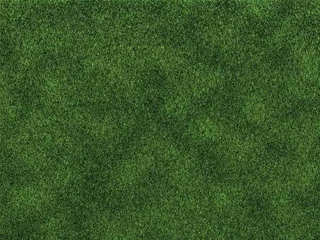 그린 잔디의 질감