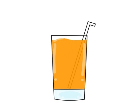Orange juice style