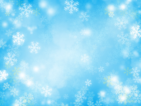 Snow crystal background 01