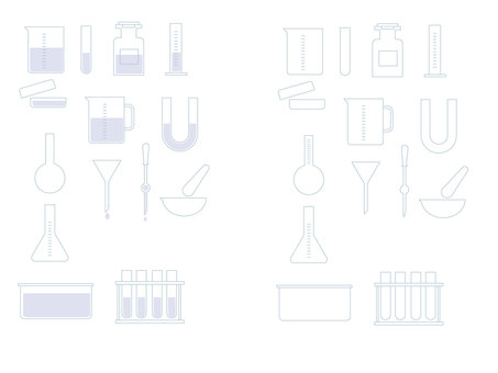 Laboratory instrument set