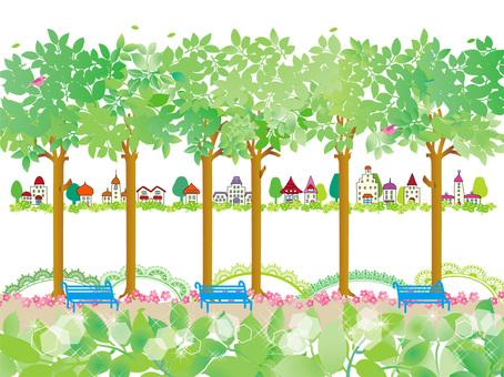 Townscape _ Park 01