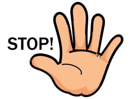 Hand 2 stop!