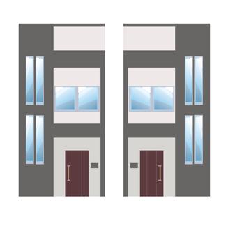 A detached house illustration 16