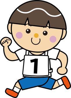 Boy 13_05 (running · number 1)